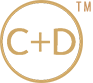 C Plus D Industry Custom Garden Tables Logo